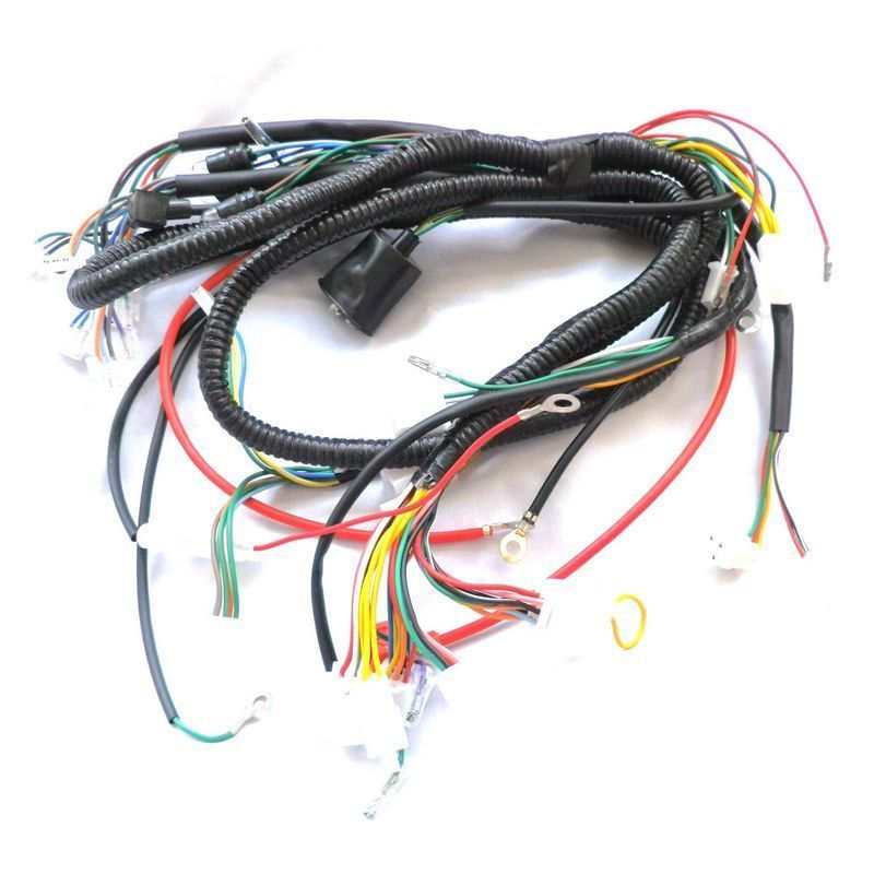 c63bf634f5767169023c5cf216e23efd gy6 150cc 11 coil stator wire harness wiring assembly scooter