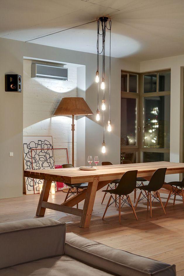 Lampadario Tavolo Da Pranzo Moderno.Lampadario Loft A Kiev Table Sale Da Pranzo Moderne