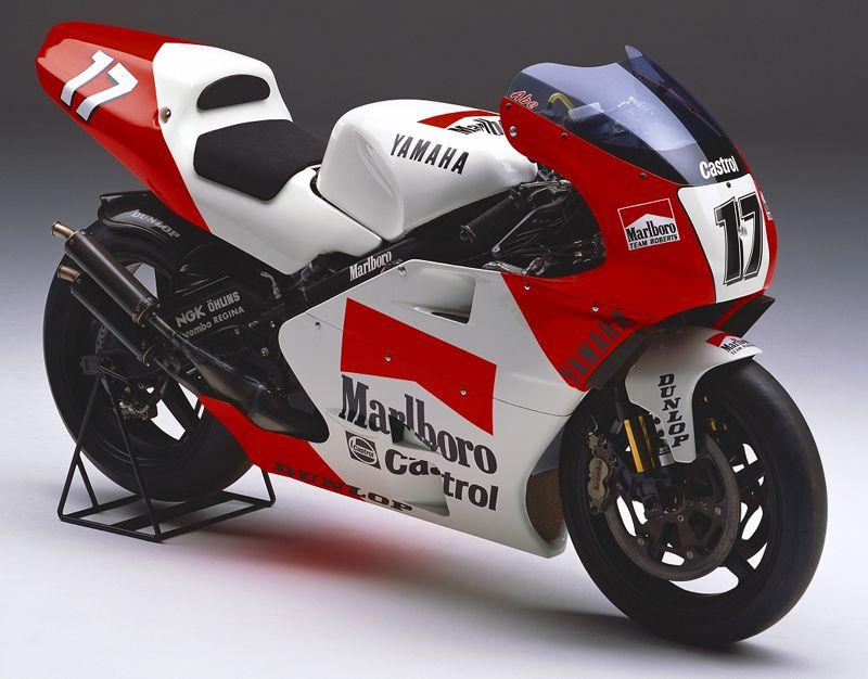 Yamaha YZR 500 N.Abe 1995 Racing bikes, Yamaha racing