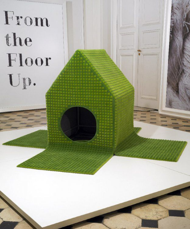 'Dog's Caprice' carpet dog house | Furniture Design by David Raffoul