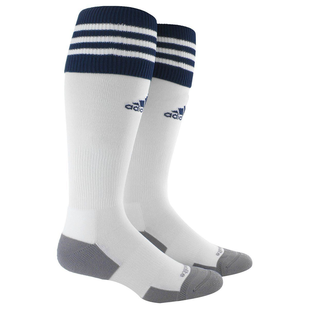 f4d8bb033741 Adidas Copa Zone Cushion 2.0 Socks (White Navy)
