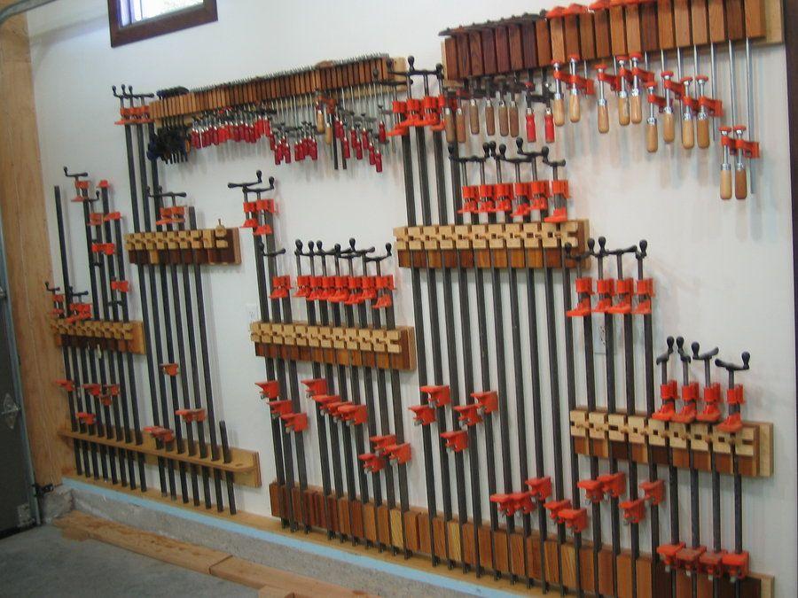 Storage Of Woodworking Clamps Lumberjocks Com