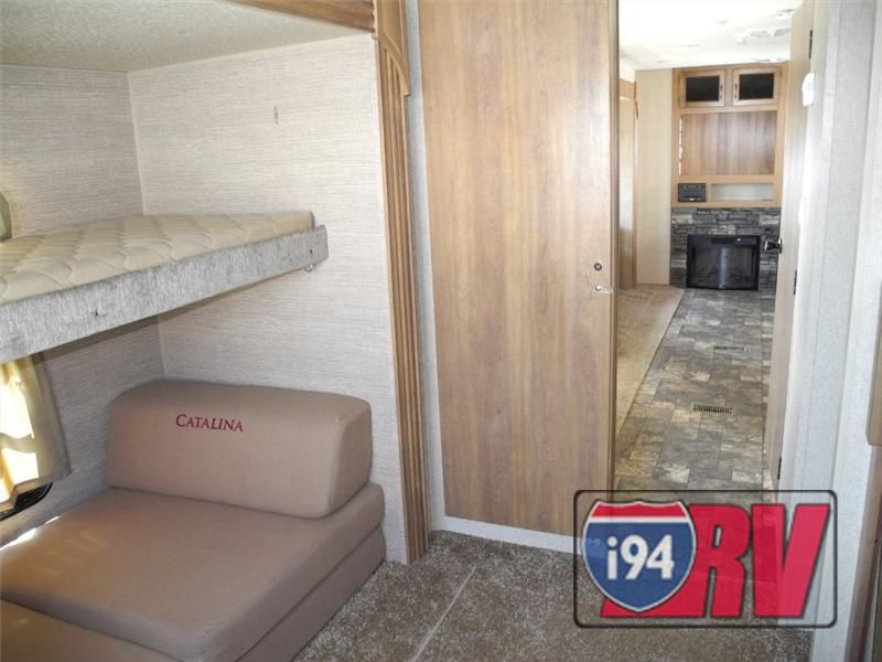 New 2014 Coachmen Rv Catalina 323Bhds Bunkhouse Outdoor Kitchen Glamorous Travel Trailer With Outdoor Kitchen Inspiration Design
