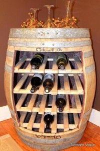 Barrel Wine-rack