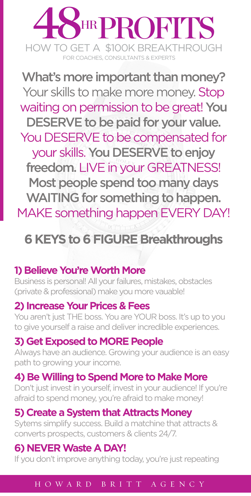Want To Create 100k Breakthroughs In Your Coaching Consulting