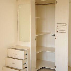 Contemporary closet by uday decor closets pinterest - Armarios para casas pequenas ...