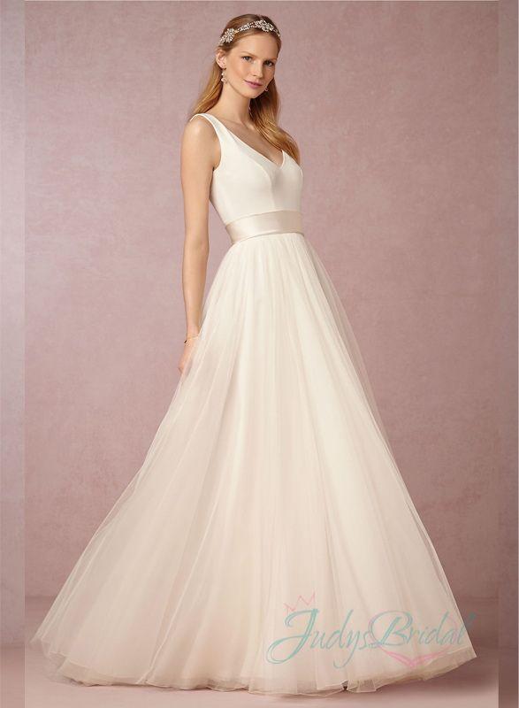 25288e17fd4 Pin by JDsBridal Wedding Dresses  Lace Backless Princess Flowy ...