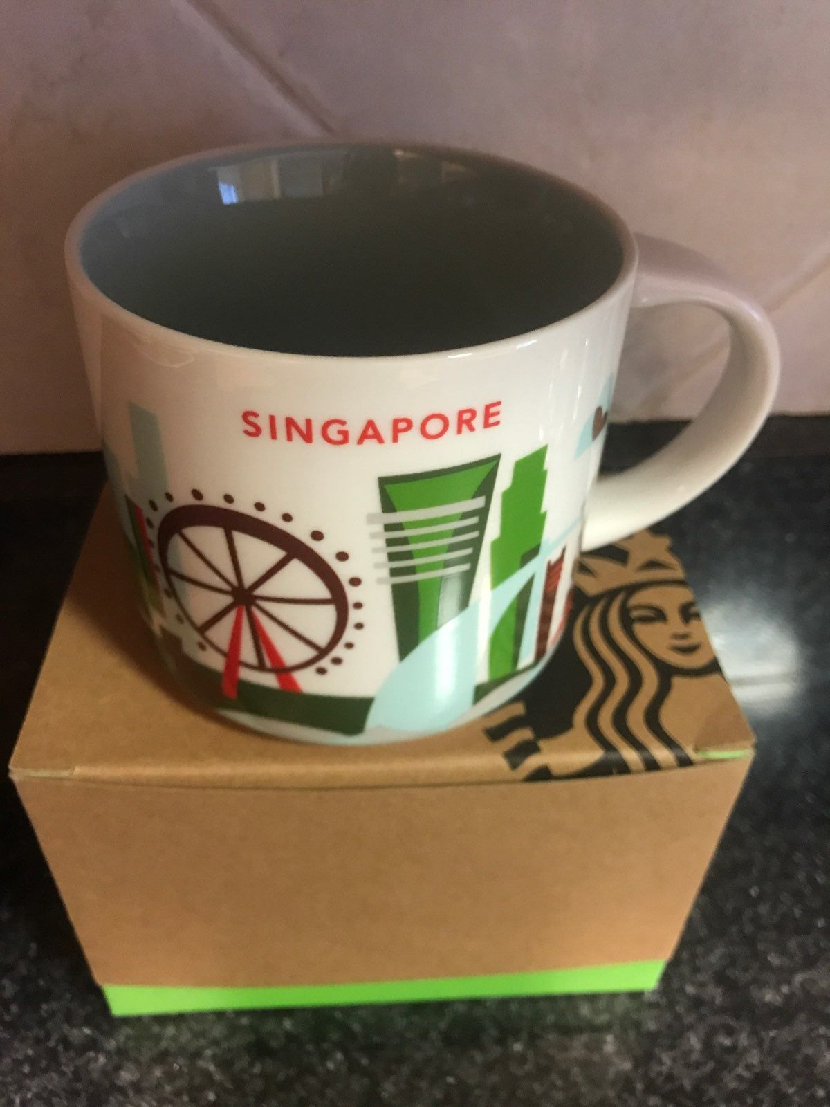 Collectors Piece Singapore You Are Here Mug Starbucks Coffee And Tea Accessories Tea Accessories
