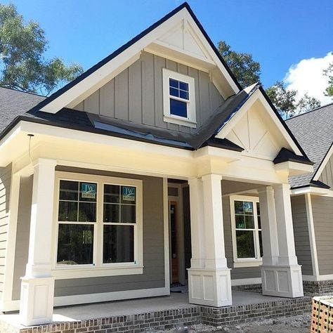 Black Drip Edge Detail | Siding | White exterior houses, Drip edge