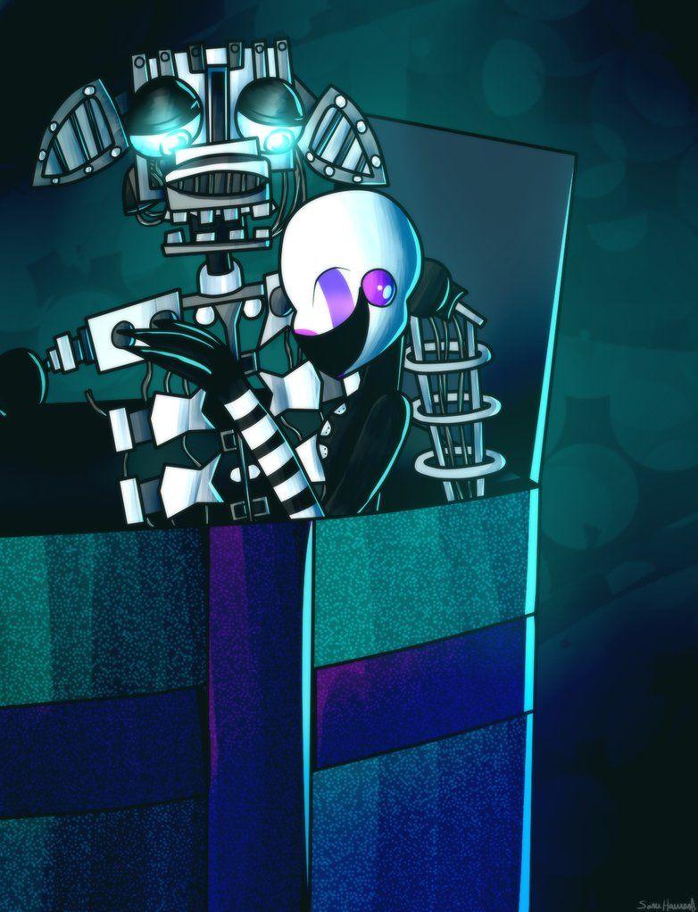 Endoskeleton and Marionette Freddy 3, Freddy Fazbear, Five Nights At  Freddy's, ...