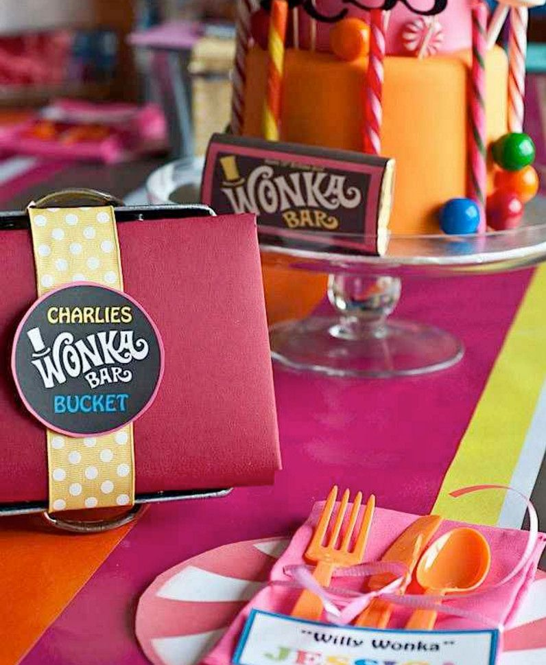 Willy Wonka Golden Ticket Party Invitations | Home Party Theme Ideas ...