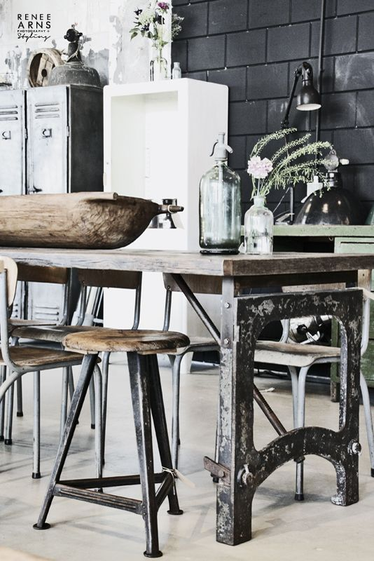 #Looking for some inspirational ideas for your #kitchen renovation project - great shabby table.. http://www.myrenovationstore.com