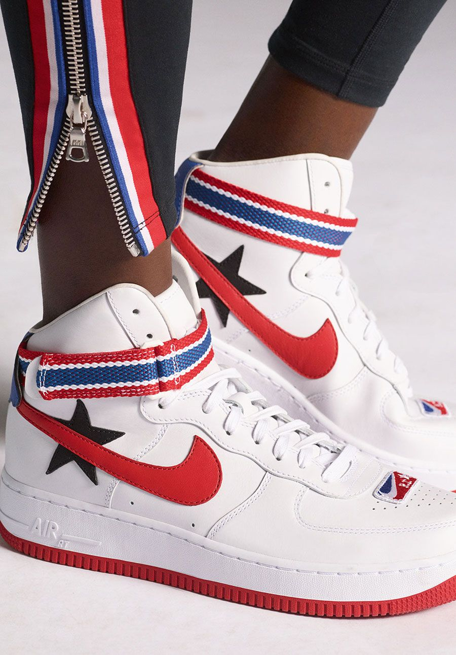 Riccardo Tisci x Nike Lab Victorious Minotaurs - Nike Air Force 1 White (On  feet