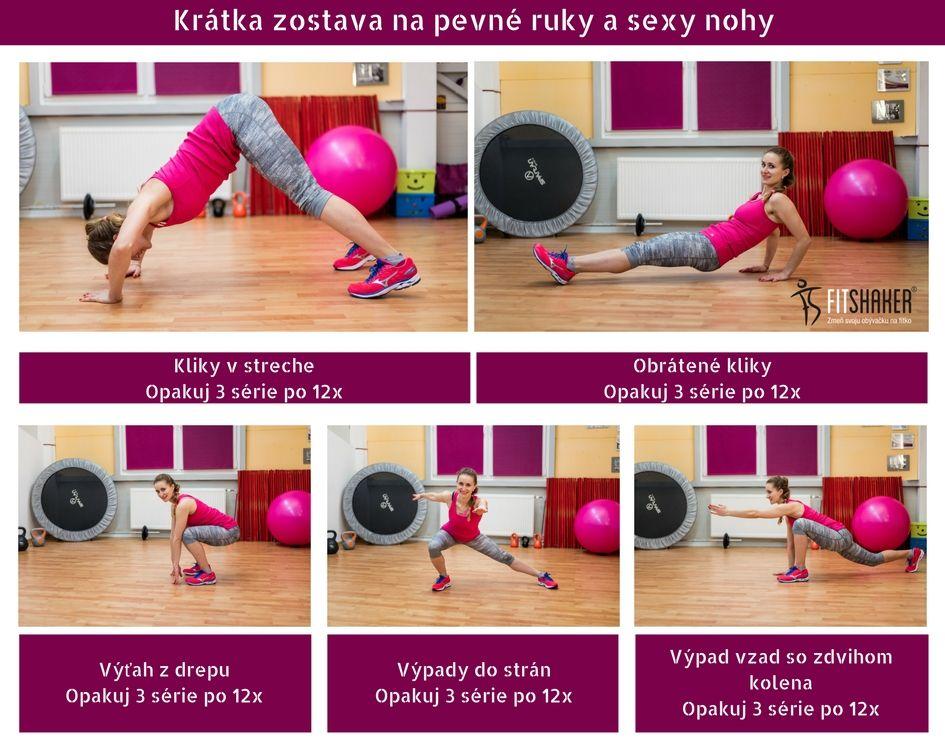 Super cviky na zadok, stehná aj triceps: ideálne cvičenie pre ženy