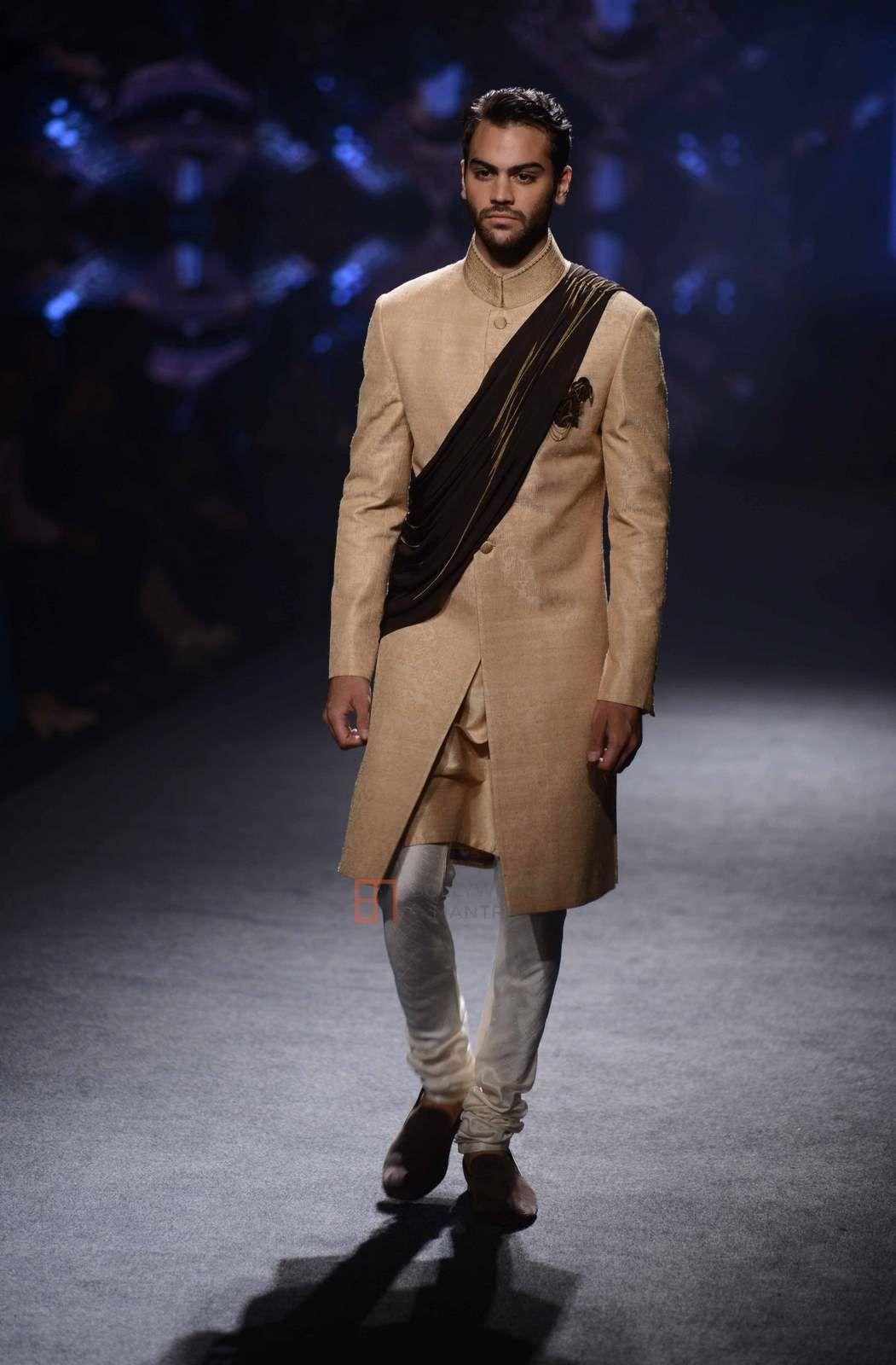 JJ Valaya – India Bridal Fashion Week 2015  #men #fashionformen #mennesslife #groomwear #ethnicwearformen #indinamen #realmen #menswear #men