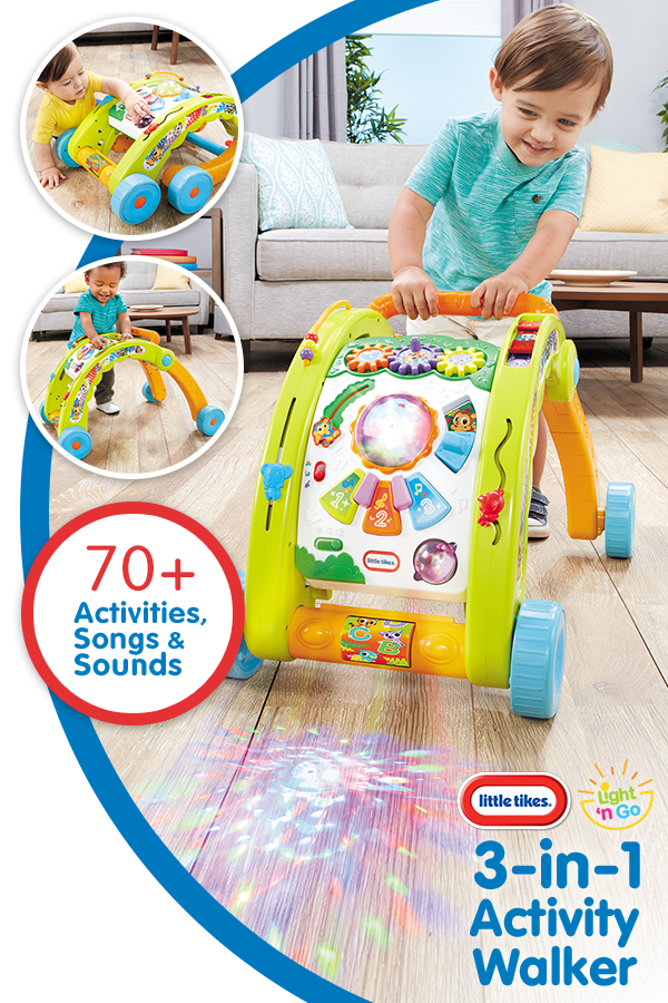 Light N Go 3 In 1 Activity Walker New Baby Products Little Tikes Cool Baby Stuff