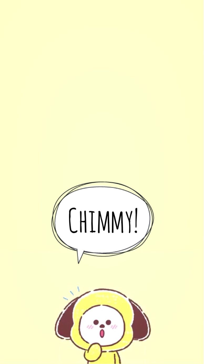 Cute Bts Bt21 Wallpaper Bt21 Chimmy Bts Bt21wallpaper Jimin Chimchim Cute 지민 침침