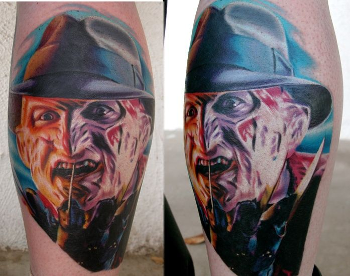 Nightmare On Elm Street Tattoo. This Is So Detailed