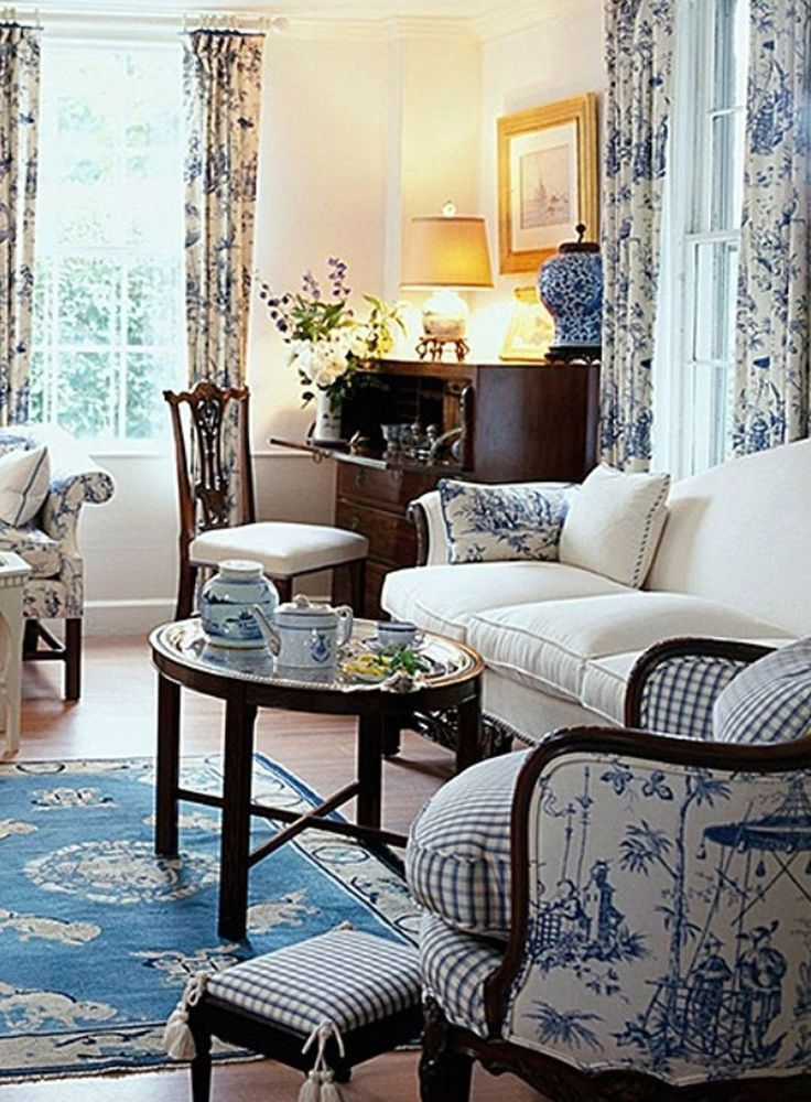 Cozy French Country Living Room Decor Ideas 49 • French