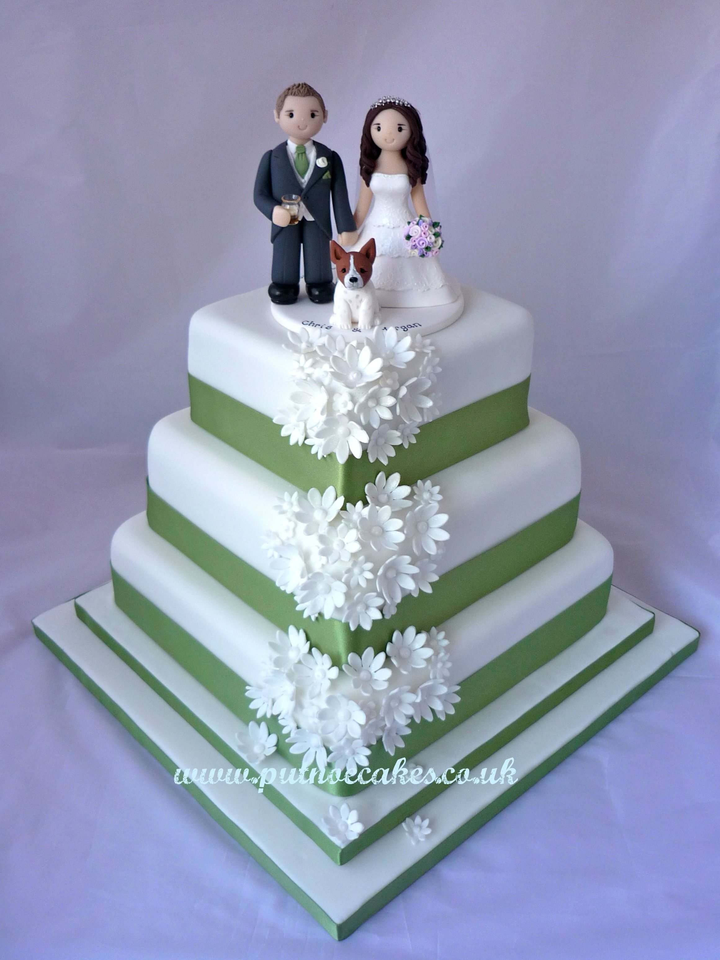 This cake was one of my favourites from the last year, I just love the colour scheme and simple design.  The topper is not mine but I think everything works well together.