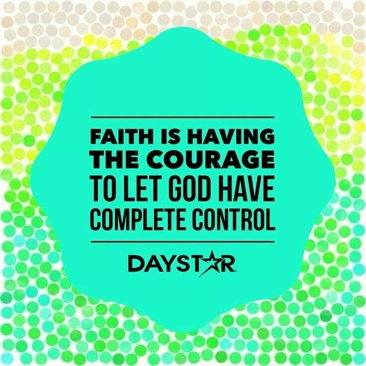 Faith is ....