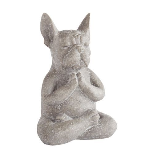 Modern French Bulldog Yoga Dog Statue (With images) Yoga