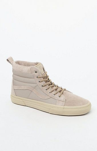 a8caafd4fa Take on the elements in style with the Vans Sk8-Hi MTE Shoes. These  weatherized kicks are Scotchgard-treated and feature a high-top design