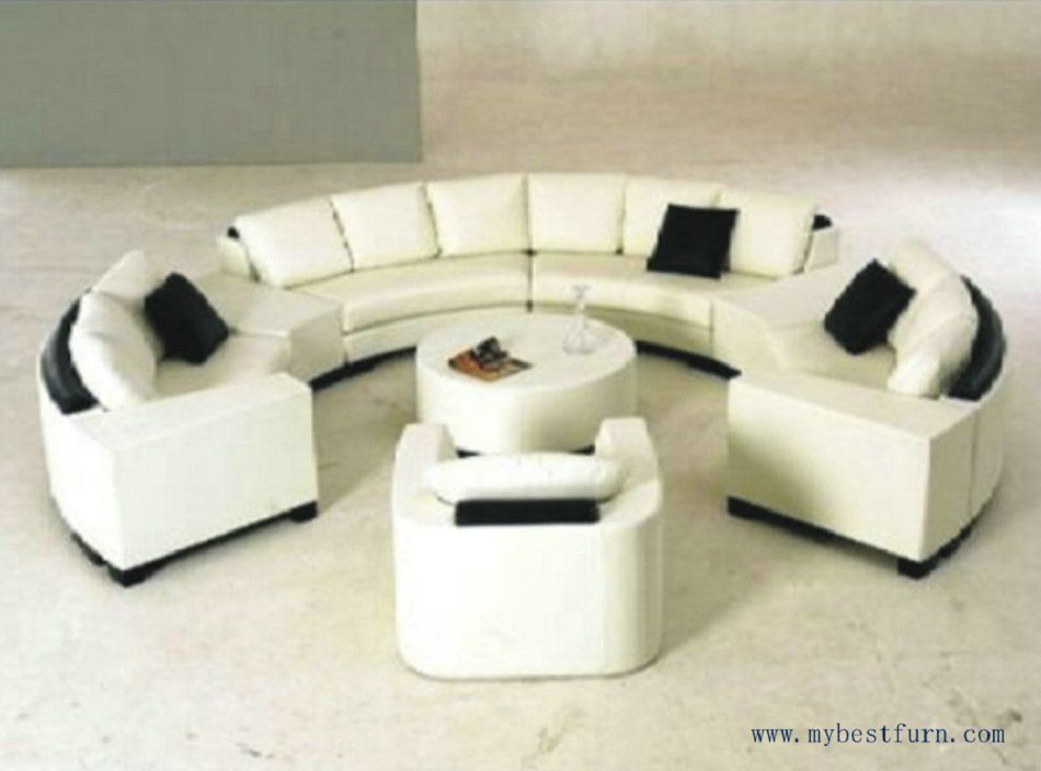 extra large round sofa roche bobois modular price luxury settee nice real leather sofas shaped
