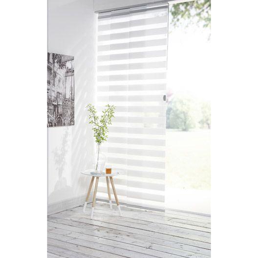 Panneau Japonais Jour Nuit Inspire Blanc 250 X 50 Cm New Homes Interior Design Design