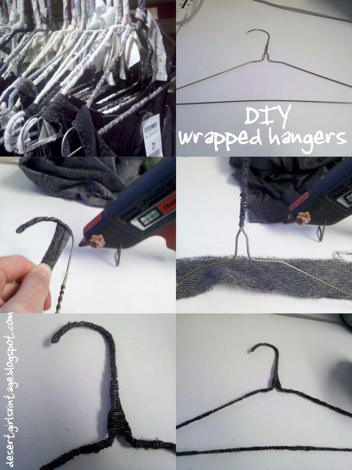 Diy Wrapped Hangers Like Brandy Melville
