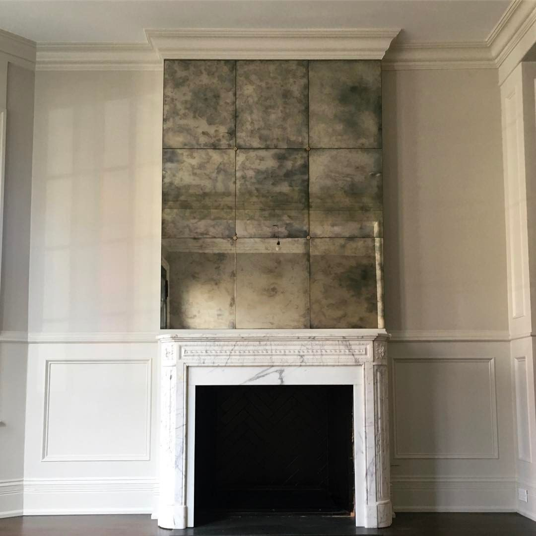 170 Likes 16 Comments Wendy Labrum Interiors Wendylabruminteriors On Instagram Read Farmhouse Fireplace Decor Mirror Over Fireplace Interior Decorating