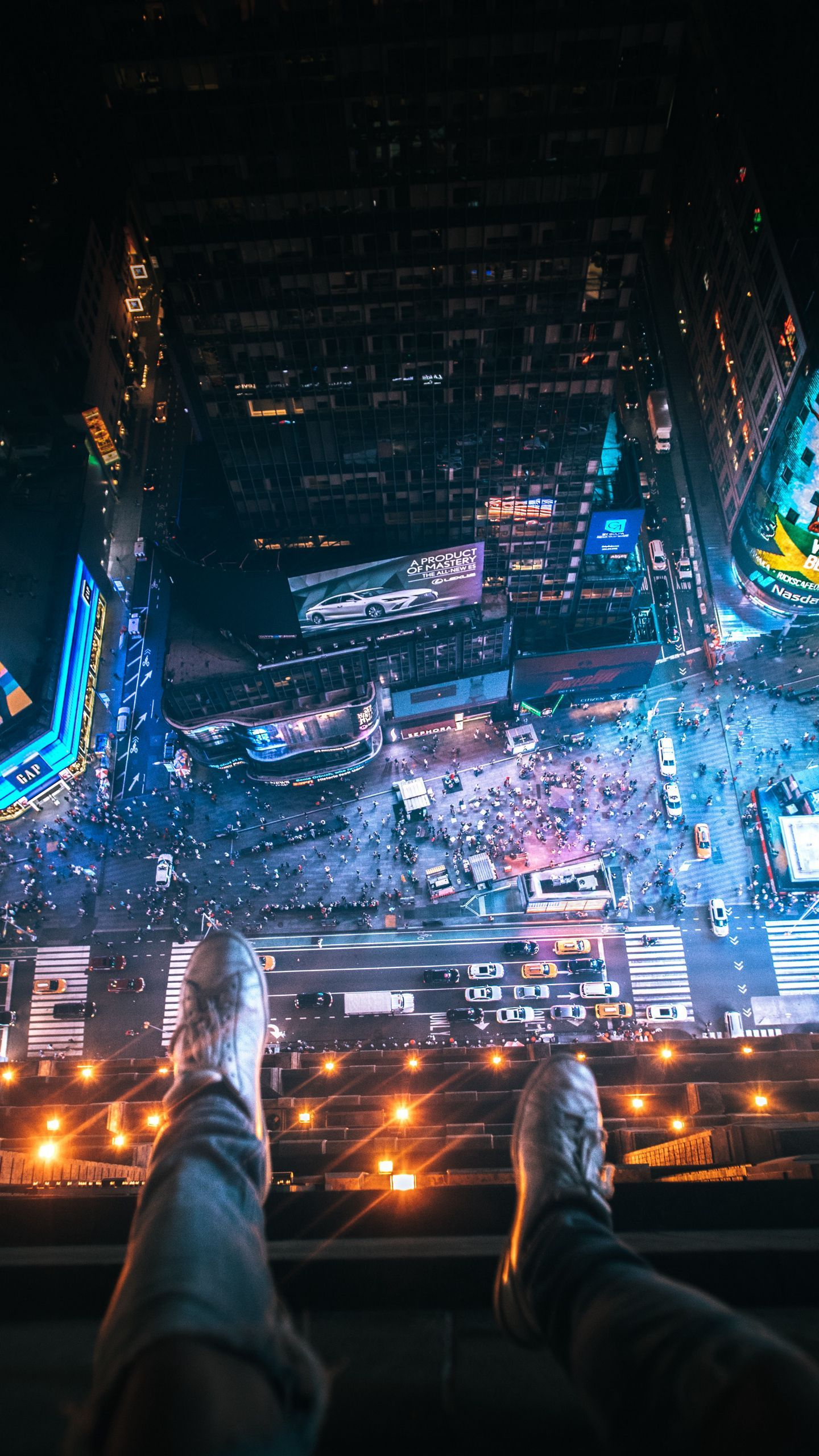 See My Collection Of Attractive Iphone And Android Night Wallpapers And Background Images In Hd Get Instant City Iphone Wallpaper City Wallpaper Aerial View Hd wallpaper city night snow aerial