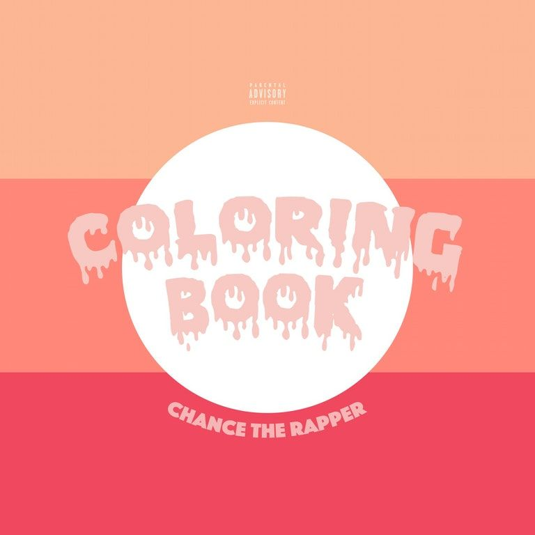 Chance The Rapper Coloring Book 1500x1500 Freshalbumart Coloring Book Album Chance The Rapper Coloring Books