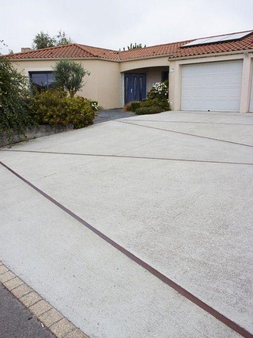 Le béton désactivé, une solution esthétique pour vos lu0027accés à votre - beton cellulaire en exterieur