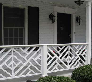 The Colonial Porch Porch Railing Designs Front Porch Railings
