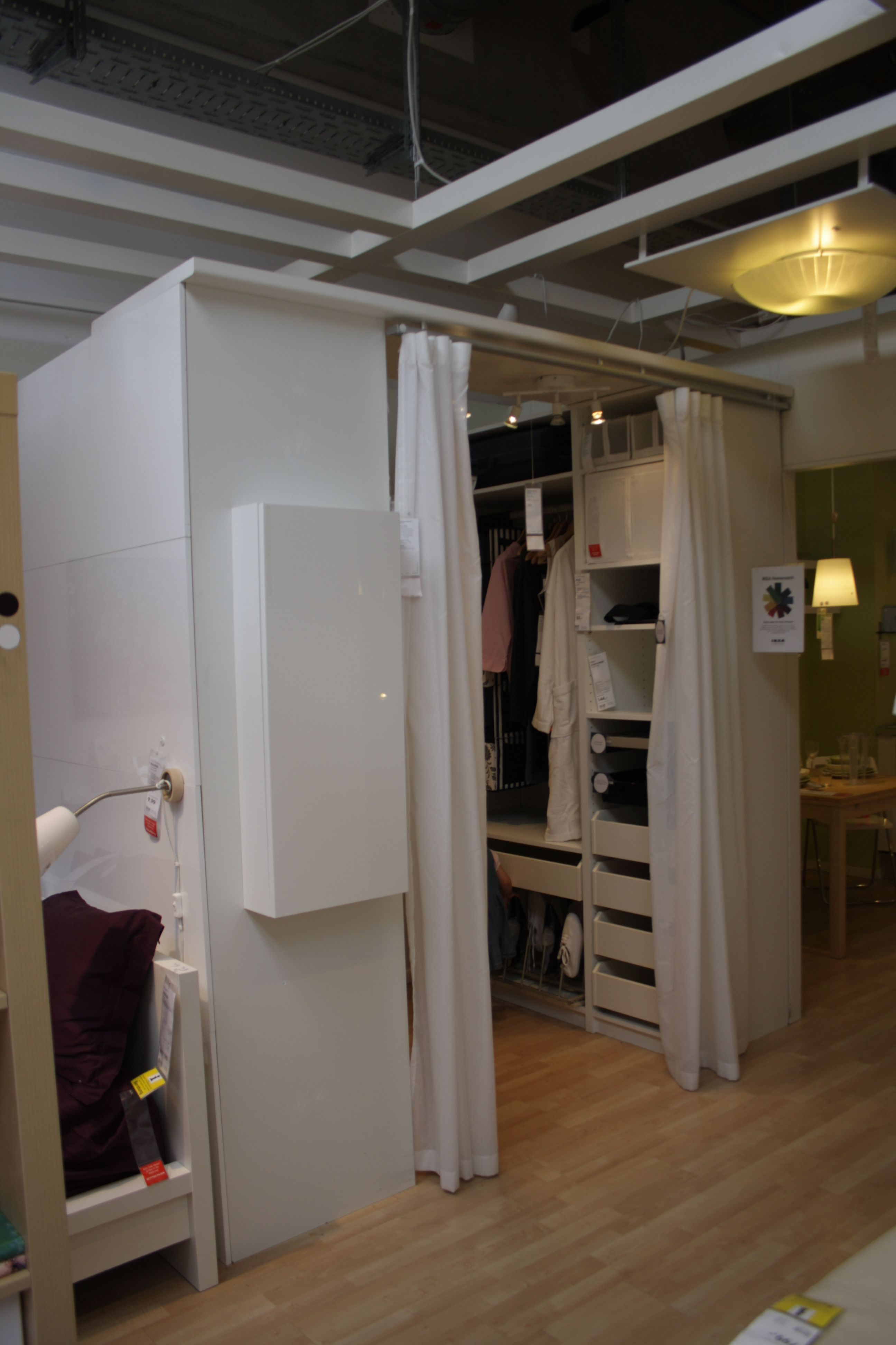 Attrayant Ikea Closet Room...great For A Studio Apartment!!