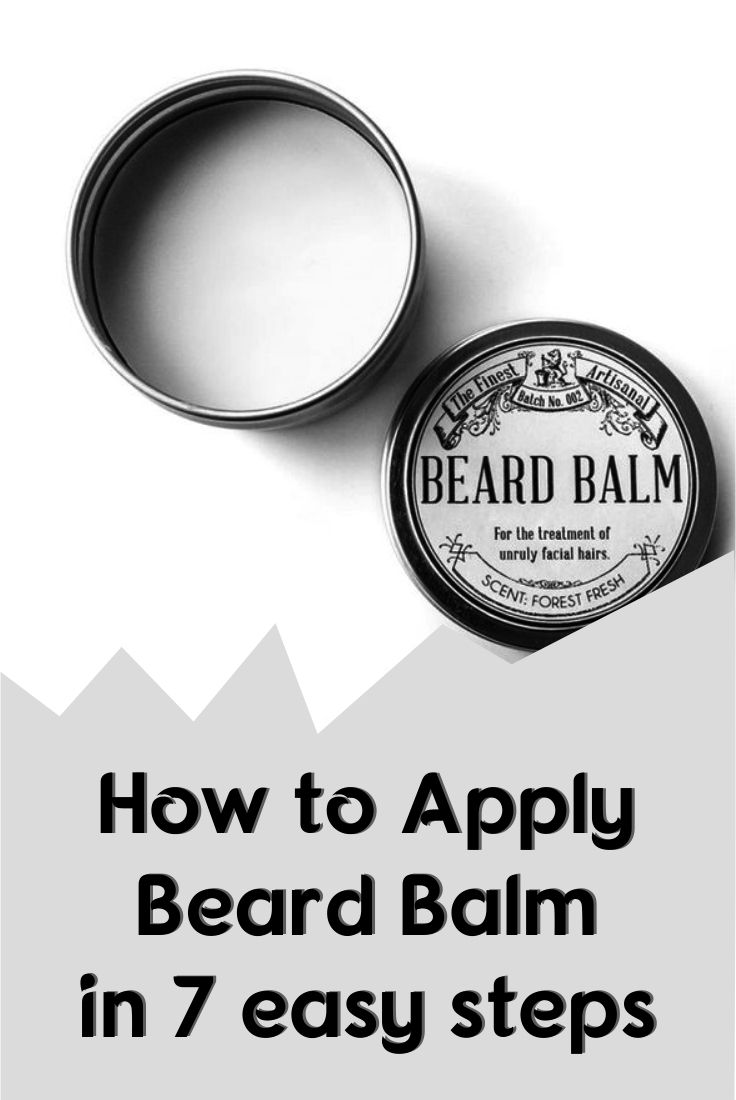 How to Apply Beard Balm in 7 easy steps Beard balm