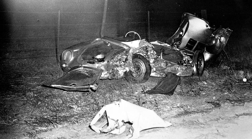 Pin By Buddyhoot On James Dean Accident And Site Highway