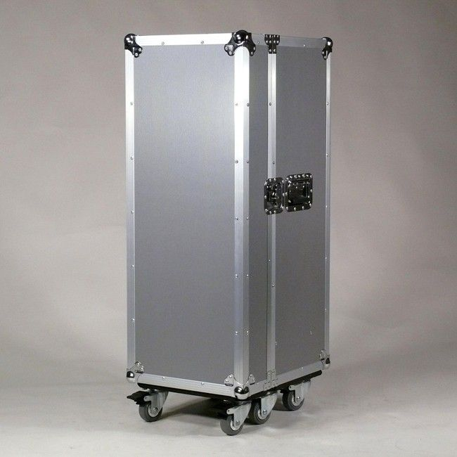 Multicase Silver Rib Flightcase Design Mobel Rollcontainer Design Schrank