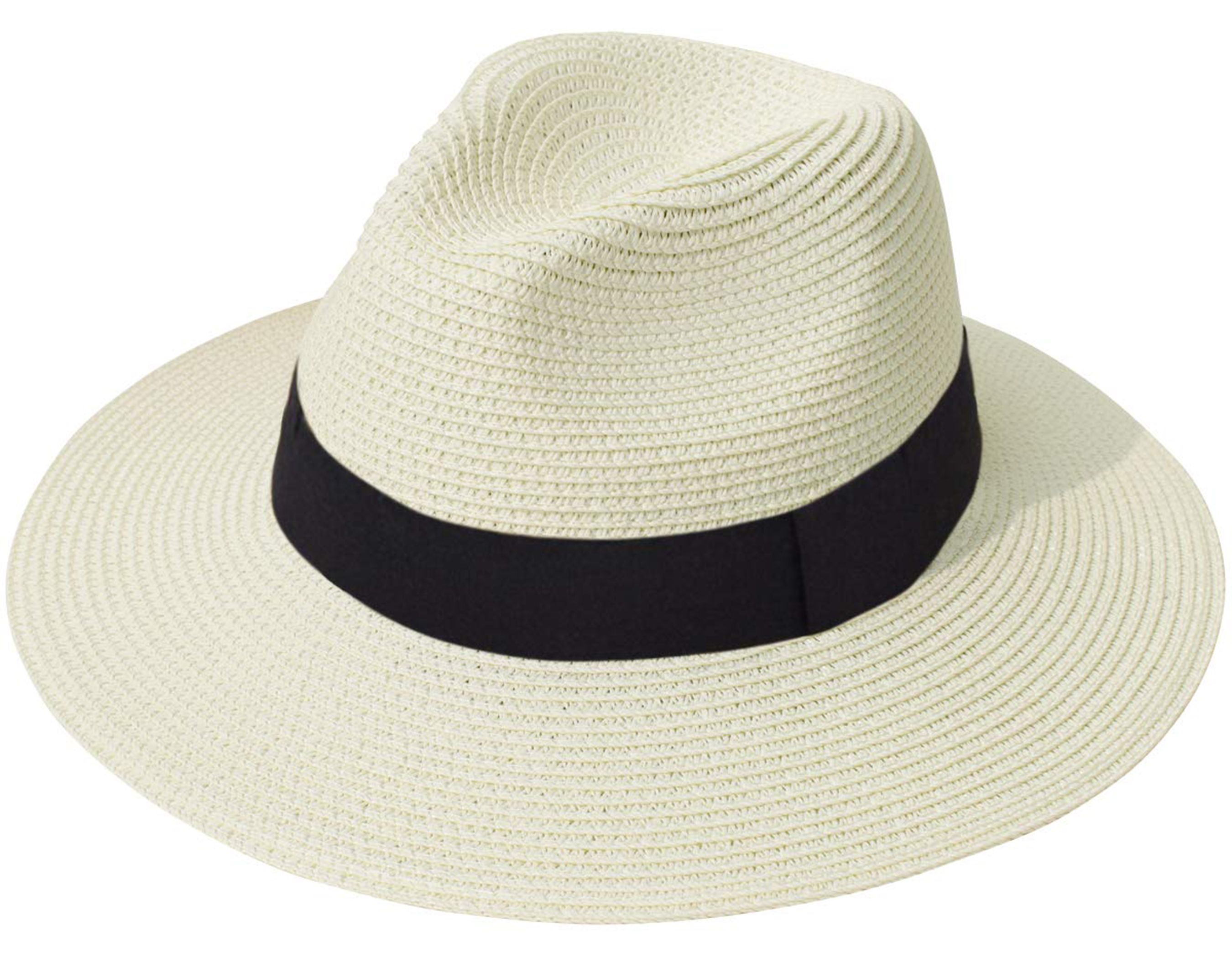 This Adorable Panama Hat Looks Nearly Identical To The One Meghan Markle Loves And It S Only 16 Fedora Beach Beach Sun Hat Sun Hats