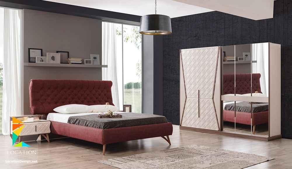 افخم غرف نوم مودرن 2019 2020 Modern Furniture Living Room Beige Living Rooms Bedroom Sets
