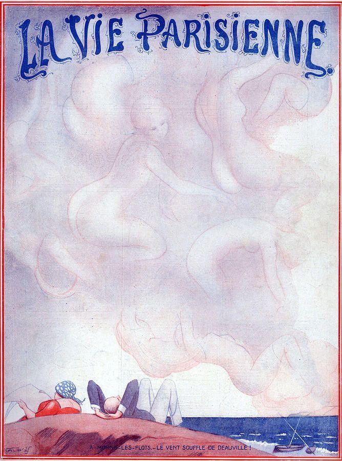 Vald'Es (Valvérane & D'Espagnat). La Vie Parisienne, 28 Juillet 1923. [Pinned 23-iii-2015]