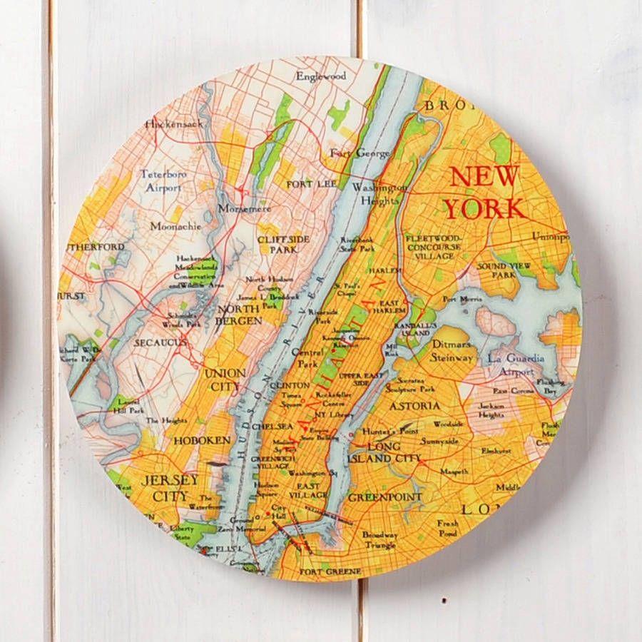 Map Circle Collectable Wall Art | Bespoke and Walls