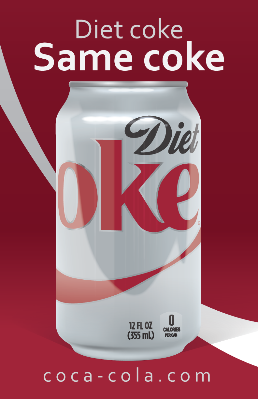 Vector Illustration Project Illustration Shown In Advertising Application Artwork Designed In Adobe Illustrator Diet Coke Drink Bottles Gatorade Bottle