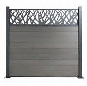 Ecran D Intimite Metal Bing Images Fence Design Privacy Fence Designs Outdoor Wall Panels