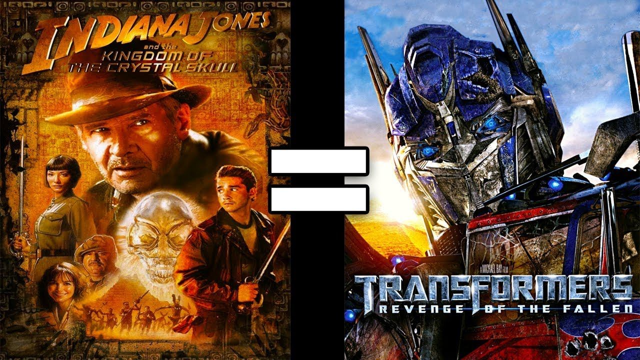 24 Reasons Indiana Jones 4 Transformers 2 Are The Same Movie Indiana Jones Transformers Screen Junkies