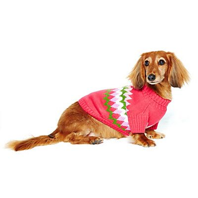 But the BLUE one for Luigi: Love this Fair Isle Dog Sweater for ...
