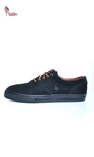 Polo Ralph Lauren , Sneakers homme - Noir - noir, 41 - Chaussures polo ralph