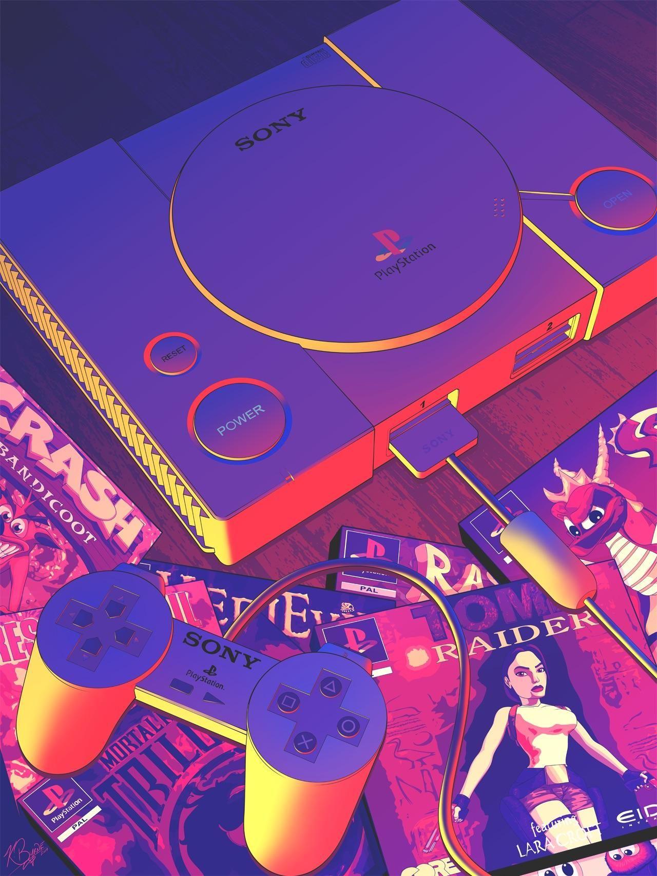 90's Gamer Cyberpunk aesthetic, Aesthetic space, Vaporwave
