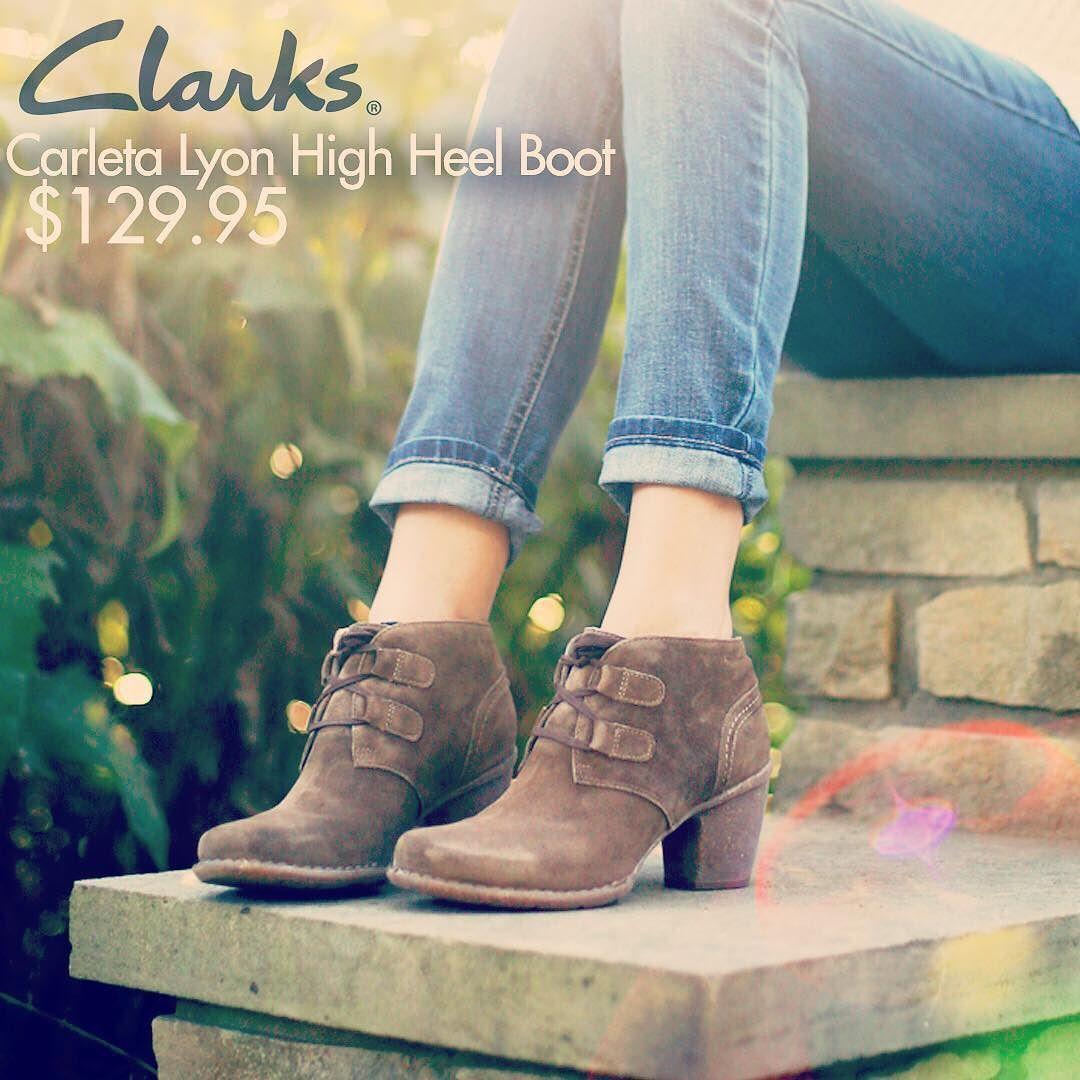 8e78643a Clarks Carleta Lyon Women's High Heel Boot - Available Colors: Black ...